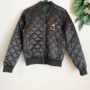 Mickey Mouse puffer jacket size
